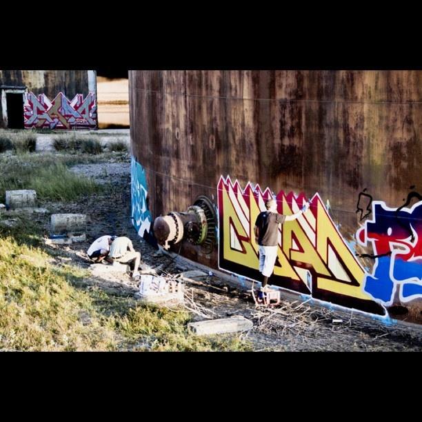 RGB in Alabama // Graffiti & Alabama's Lobster / 3 - @insta_monk- #webstagram