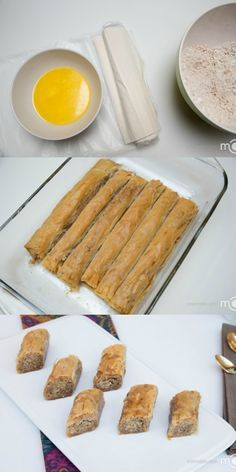 """""""The easiest Baklava recipe you'll come across"""". Twas pretty easy...the recipe doesn't tell you to thaw out the fillo dough...so don't get all ingredients ready without thawing, like I did!"""