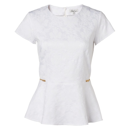 Lina peplum blouse
