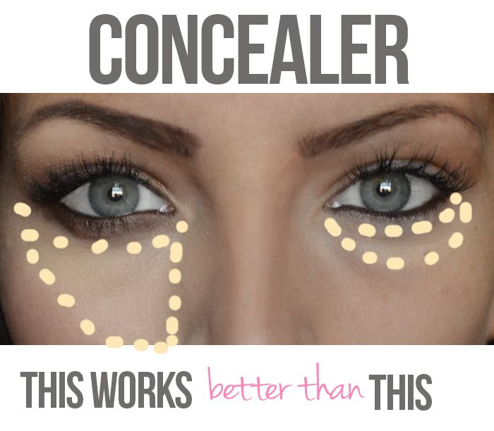 Concealer: Why this works better than that