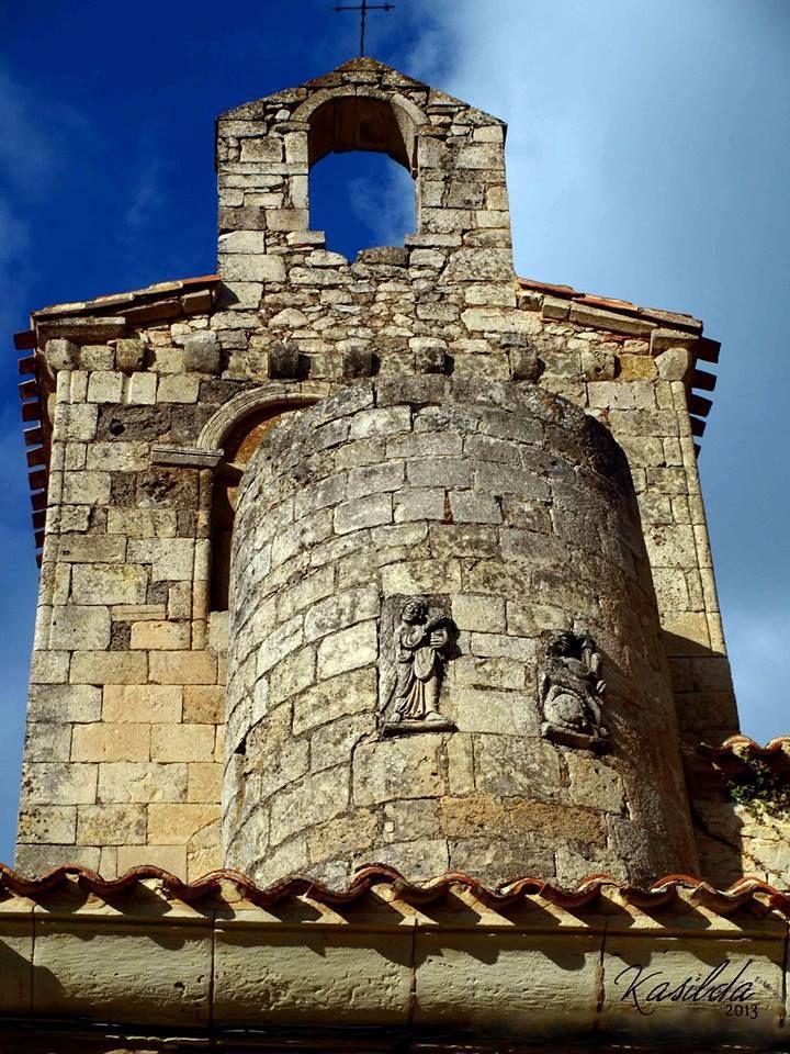 Detalle d la Iglesia Romanica de San Miguel Valdenoceda - Burgos por Kasilda Espinosa Perez http://metalflashfotosyretoques.blogspot.com.es/?view=snapshot