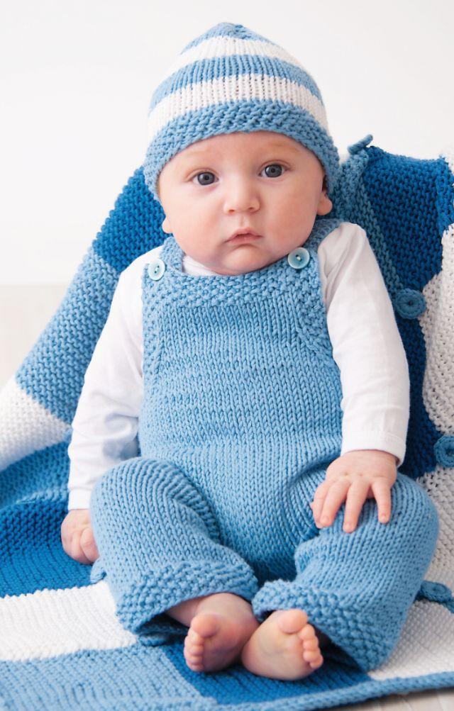 Babysnekkerbukse og lue - gratis oppskrift