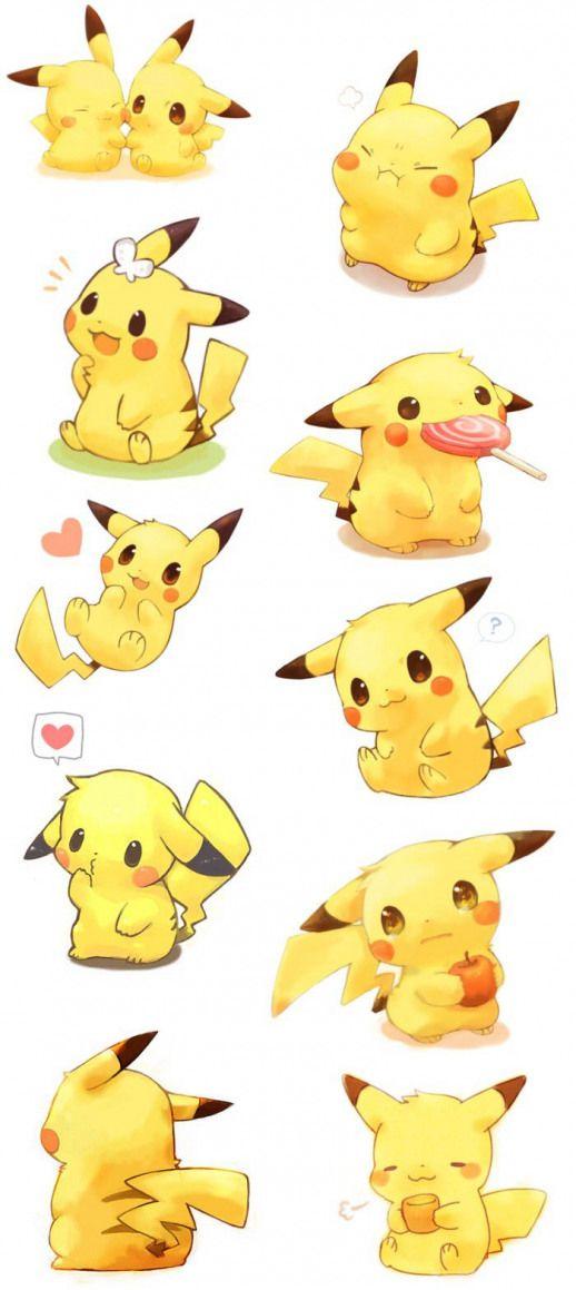 Meme mochi works Pikachu #cutedrawing #cute #drawing #of # ...