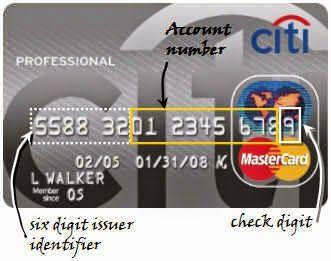 enjoymarket: Τι σημαίνουν οι αριθμοί στην πιστωτική κάρτα?