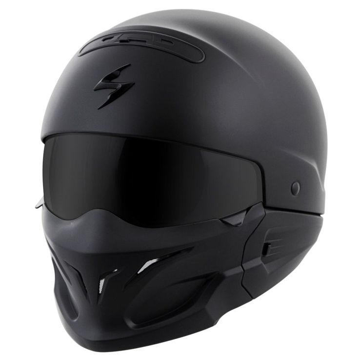 Scorpion Covert 3-in-1 Solid Mens Street Riding Cruising Motorcycle Helmets