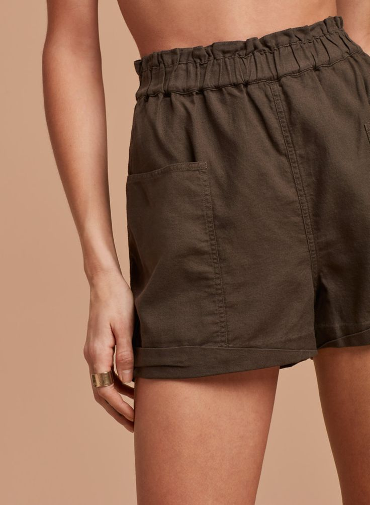 <p>Comfyshorts with an uncomplicated fit</p>