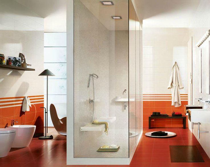 Brighten Up Your Bathroom With Glossy