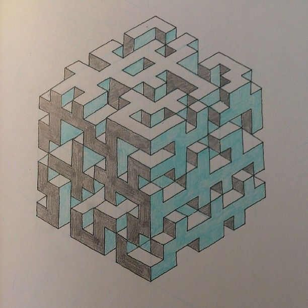 3d maze drawing - Google Search ✖️✖️FOSTERGINGER AT PINTEREST ✖️