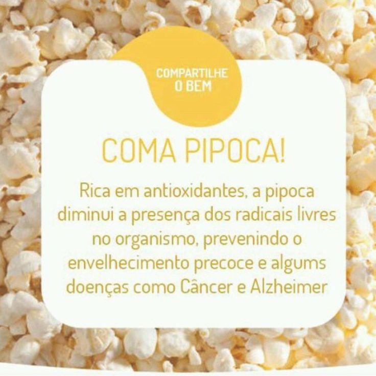 Friozinho + filminho + pipoca = saúde e bem estar www.efit.blog.br #fitness…