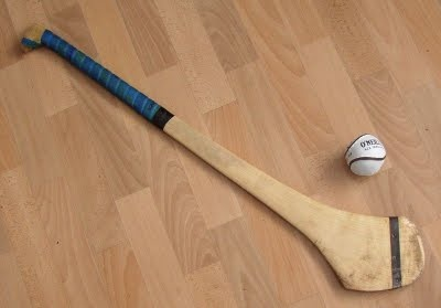 Hurling It is like hockey mixed with baseball played on a huge Gaelic football sized pitch.