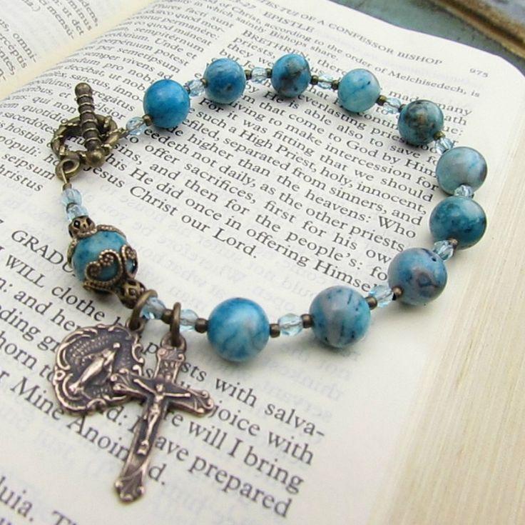 Best 25 Rosary Bracelet Ideas On Pinterest Rosary