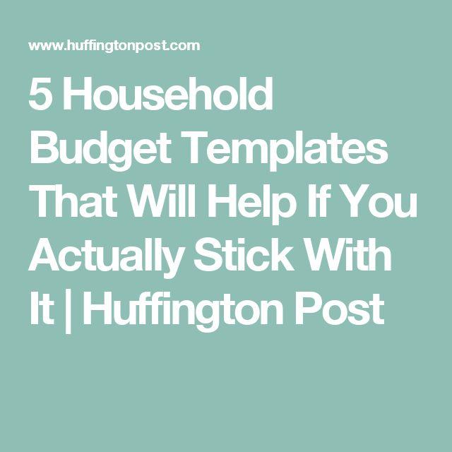 Best 25+ Household budget template ideas on Pinterest   Household ...
