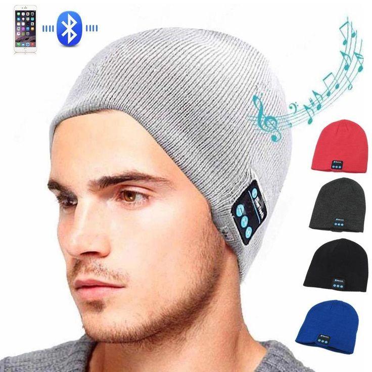Bonnet bluetooth avec écouteurs intégrés et micro  #gadget #eshopmedia #cadeaux #utile #cadeau#écouteur #bluetooth #KitMainLibre #bonnet