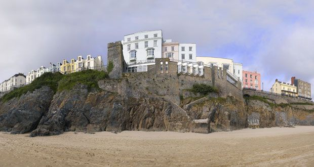 The Imperial Hotel Tenby, Pembrokeshire, West Wales, UK - we stayed there when our daughter was a baby and it was there that we made the decision to move to this beautiful part of the world