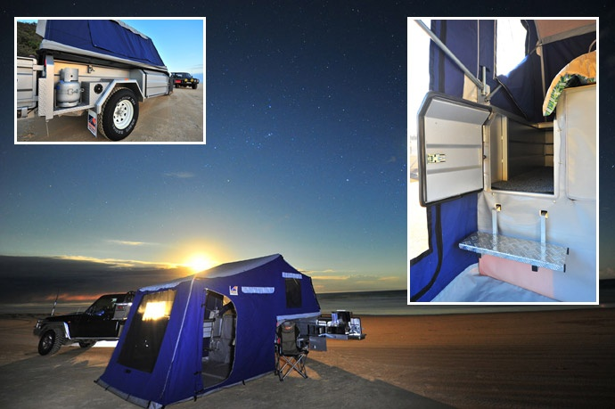 1000  ideas about off road camper trailer on pinterest