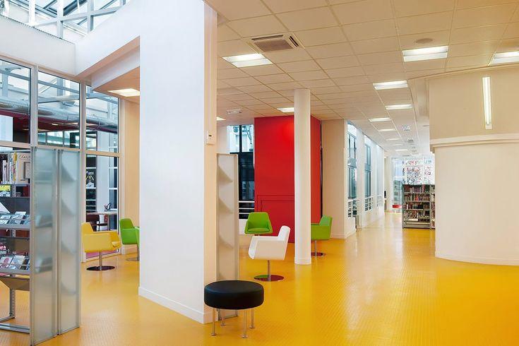 Gummigulv: artigo rubber flooring, yellow
