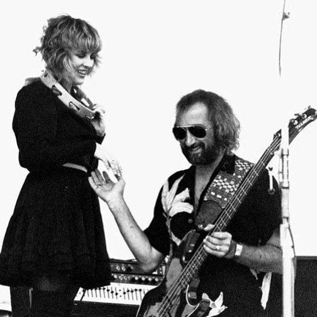 "Happy Birthday John! ""Stevie Nicks & John McVie"""