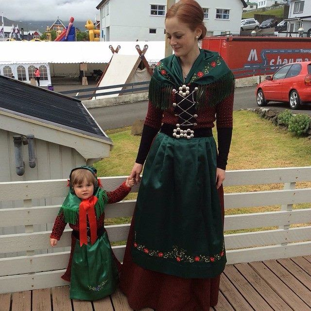 Faroe Islands | Ethnic Clothing | Island outfit, Faroe ...