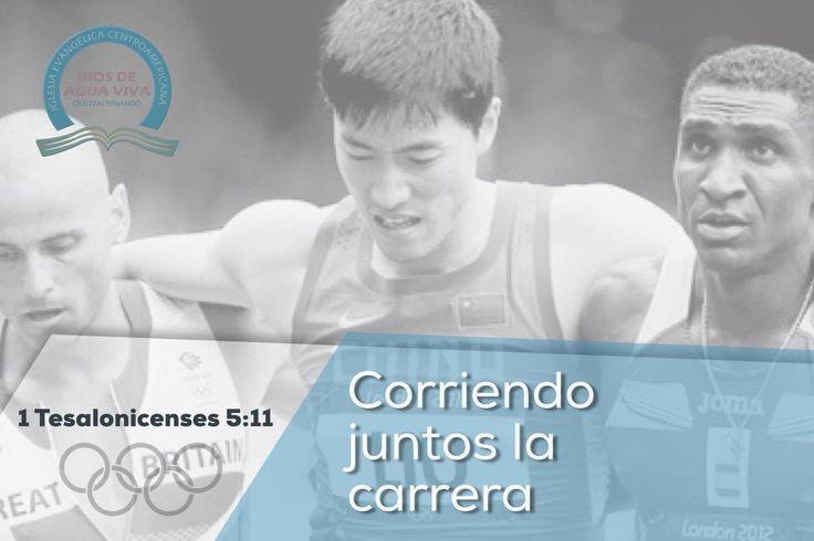 """""""Por lo cual, animaos unos a otros, y edificaos unos a otros, así como lo hacéis."""" 1a Tesalonicenses 5:11 #Rio2016 #SomosGUA #Guatemala #GuateEnRío #Olimpiadas #IcaRiosXela"""