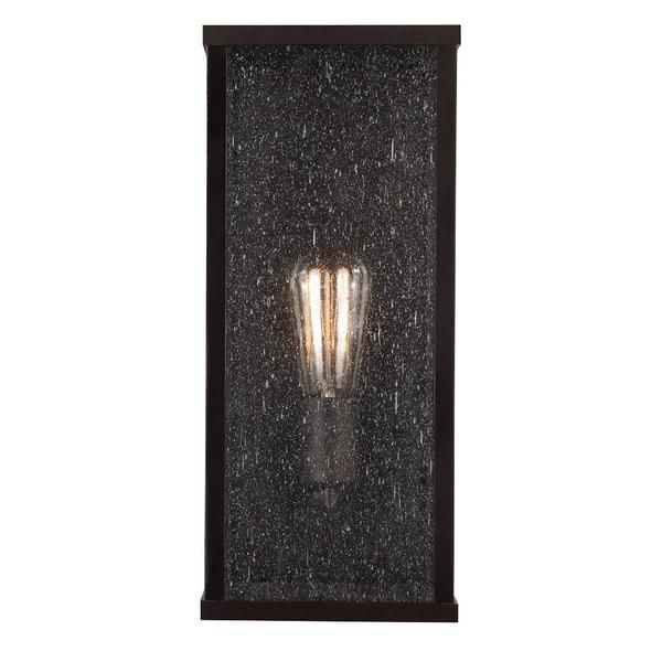 FREE SHIPPING. Purchase the rectangular Lumiere Outdoor Wall Sconce for your transitional-to-modern exterior lighting today at lightingconnection.com Feiss OL18005ORB