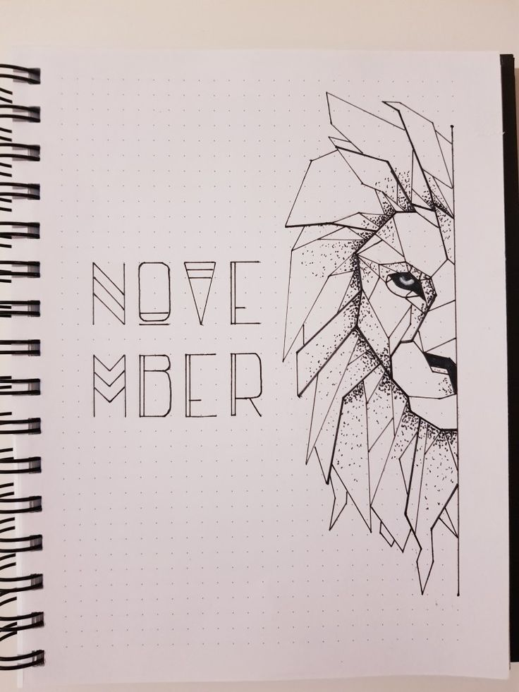 Oktober-Bullet-Journal 2018 – #OctoberBulletJournal