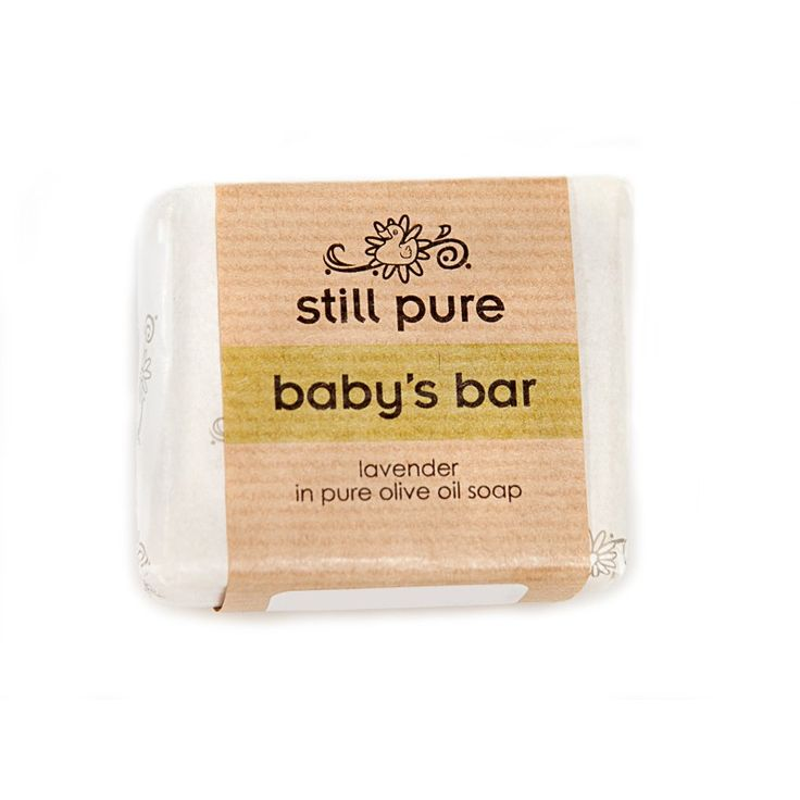Still Pure Baby's Bar This is a pure, handcrafted, old world style bar of soap that produces an exceptional lather. It is soft, moisturising & soothing - suitable for babies & children, & anyone else with sensitive skin.