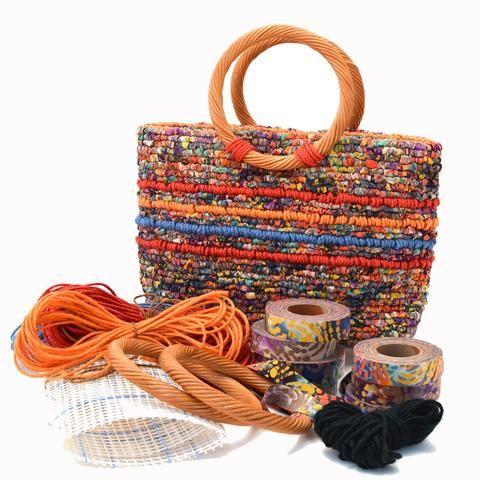 Confetti Tote Bag Locker Hooking Kit