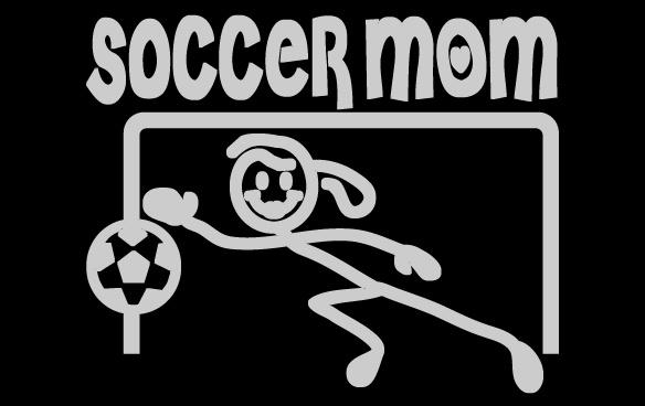 Soccer Mom Goalie Sticker, $4.00