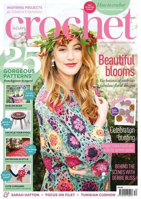 Inside Crochet Issue №52 2014 - 轻描淡写 - 轻描淡写