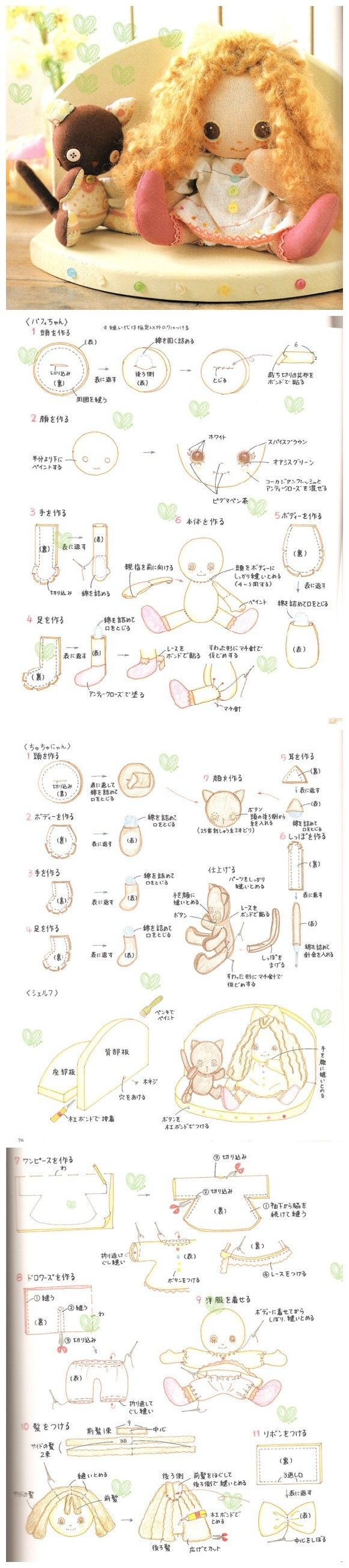 Adorable baby  ~ ~ unless you speak Chinese, this is a picture tutorial