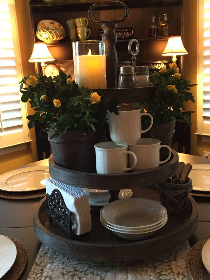 Cake Stand Kitchen Art : Best 25+ 3 tier stand ideas on Pinterest Farm kitchen ...
