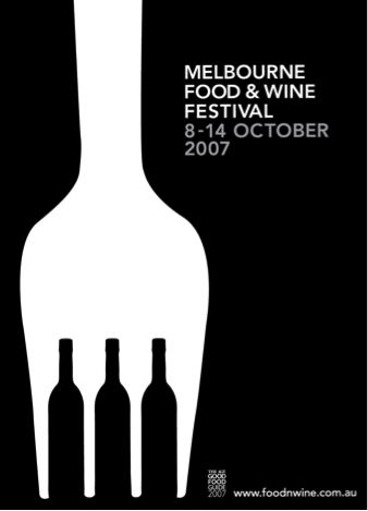 Smart designs don't need high-end design work but deliver meaning in a simple yet compelling way at http://blog.eventnook.com/post/10-simple-but-great-event-poster-ideas-to-inspire-you/. Design: Kaushik Design