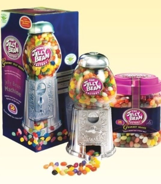 The Jelly Bean Factory Bean Machine + 2kg Gourmet Jelly Beans in Home, Furniture & DIY, Food & Drink, Sweets & Chocolate | eBay!