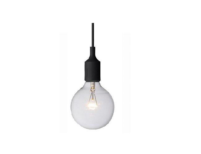 Mette 01 kleine hanglamp - Zwarte fitting 1