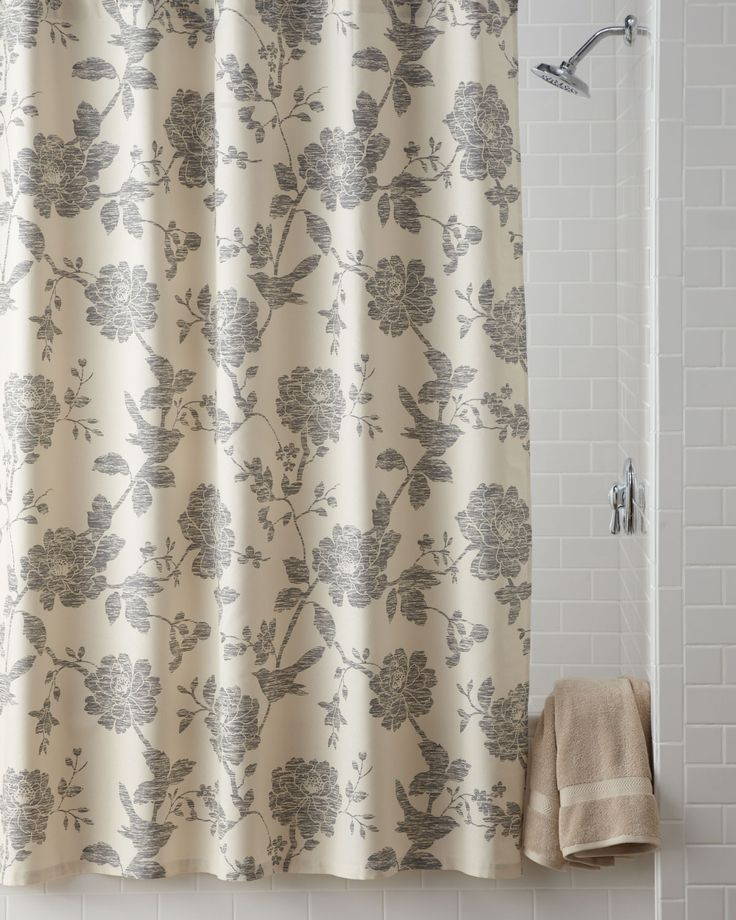 Shop Bliss Bird Shower Curtain From Kassatex At Horchow Where Youll Find New Lower Shipping On Hundreds Of Home Furnishings And Gifts