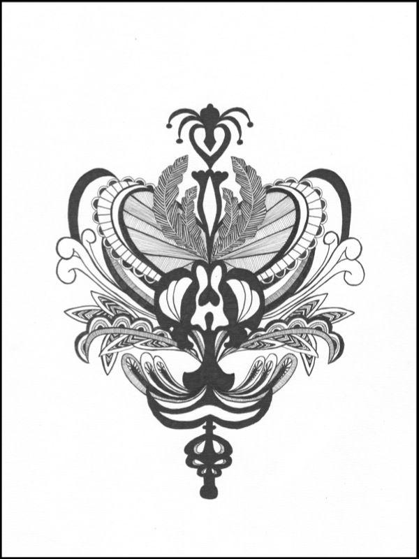 Ornamentbug - Mette Nørhede