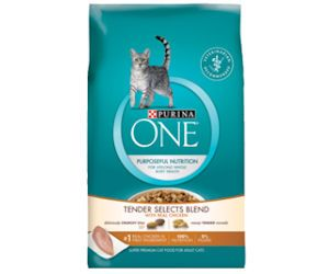 Free Sample of Purina One Chicken Tender Selects Cat Food