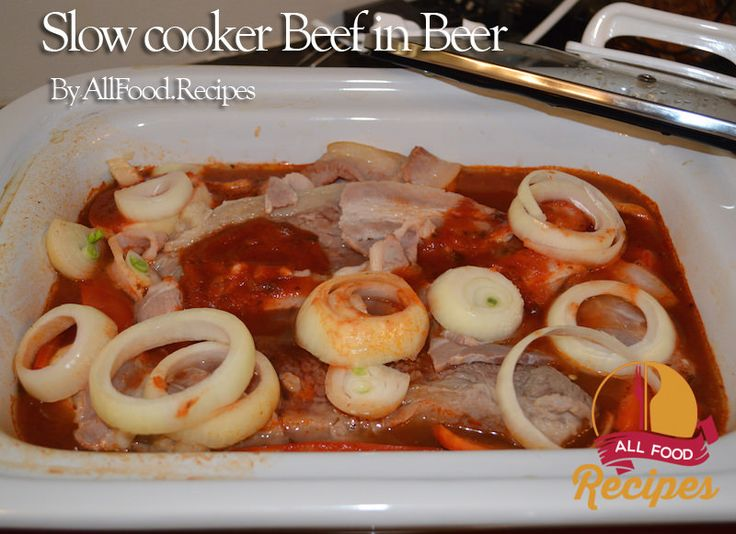 Beef and beer recipes easy