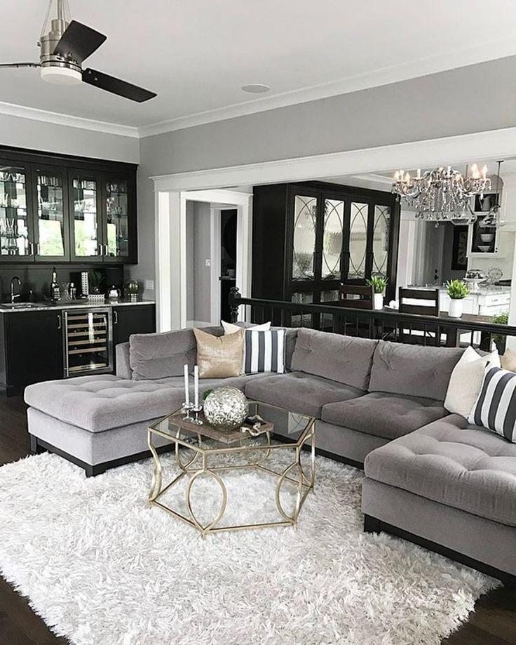 36 Best Ideas Monochromatic Color Scheme For Living Room Houzz Small Living Room Decor Living Room Grey Velvet Sofa Living Room