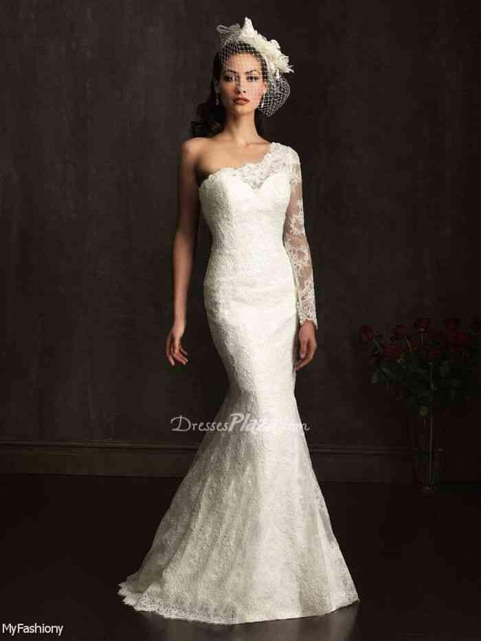 Fabulous Long Sleeve Lace Wedding Dresses