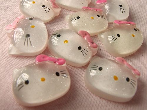Hello Kitty Soap - cute! Great for little girls at school fairs!