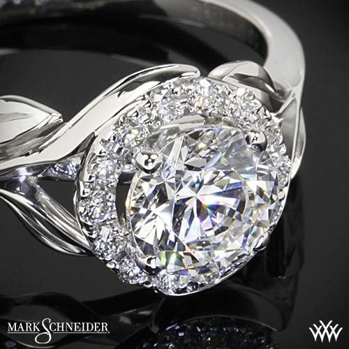 Mark Schneider Bloom Solitaire Engagement Ring Whiteflash Markschneider Designerengagementring