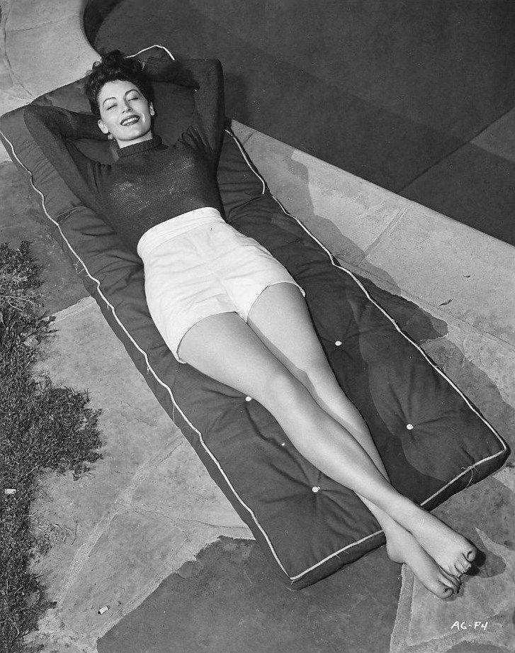 Ava Gardner, 1948.