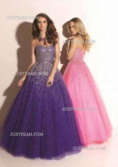 Sweetheart Beading Sleeveless Evening Dresses
