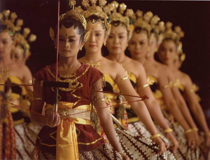 Indonesian Traditional Dance from Jogja, Indonesia.