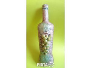 Obiecte de arta, Vanzari, cumparari, Sticla decorata 3d decorativa mese festive, nunta, botez, bar, restaurant, pub, imaginea 1 din 4