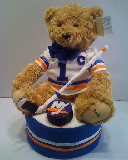 1000+ Images About Hockey Diaper Cakes On Pinterest