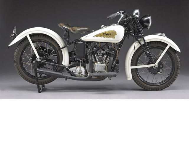 1934 Indian Scout 45ci #motorcycle owned by Steve #McQueen.