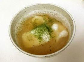 揚げもちの大根おろしスープ