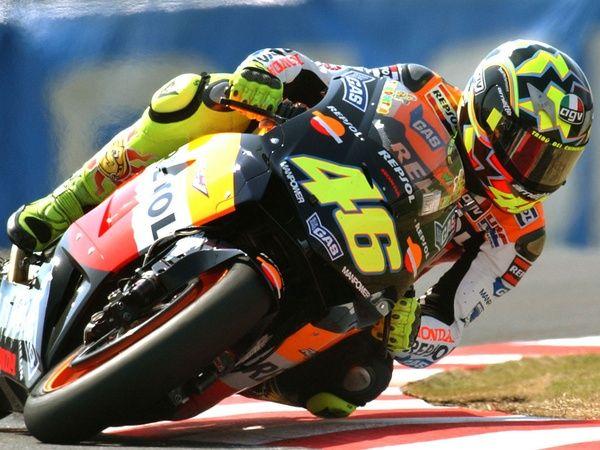 The legend Valentino Rossi, Moto GP